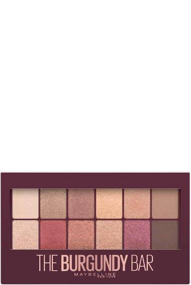Maybelline espana eyeshadow burgundy bar palette