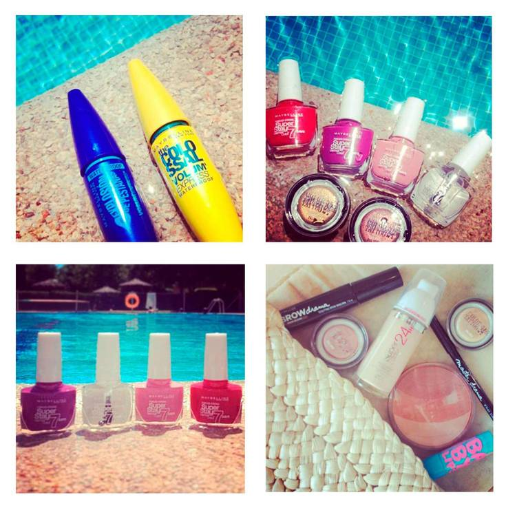 Maybelline maquillaje waterproof